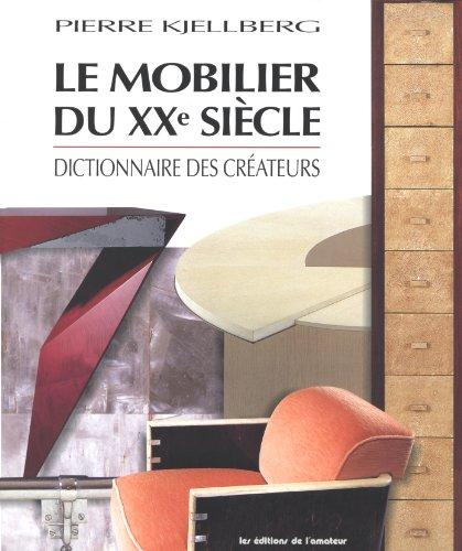 Le mobilier du XXe siècle