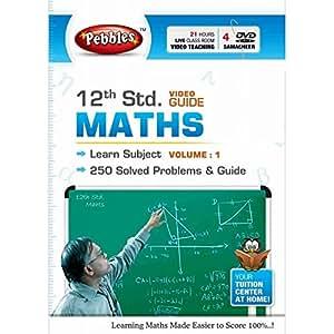 Pebbles 12th Std Maths (Samacheer) Video Guide - Vol. 1 (DVD)