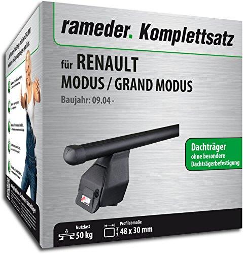 Rameder Komplettsatz, Dachträger Tema für Renault MODUS / GRAND MODUS (118896-05213-1)