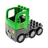 1 x Lego Duplo Fahrzeug LKW bright hell grün neu-dunkel grau Laster mit Kabine Auto Zugmaschine Recycling Set 9211 4659 48125c03pb01 1326c01