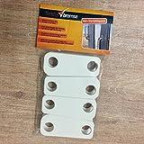 Fensterbremse 4er-Vorteilspack, Zuschlagschutz, Kipp-Schutz, Katzen-Klemmschutz