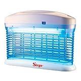 Sirge - Zanzarix - Mosquitera eléctrica, cubre aproximadamente 18–20 m² Descarga de alta tensión, 3500 V; Incluye cepillo y cajón recogeinsectos.