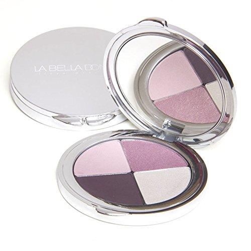 La Bella Donna - Eyeshadow Compact Colour Quad Blackberry