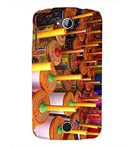 Colourful Kite Charkhi 3D Hard Polycarbonate Designer Back Case Cover for Acer Liquid Zade Z530 :: Acer Liquid Zade Z530S