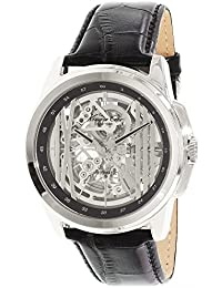 Kenneth Cole Hommes Montre Skelett Automatik Noir KC8100