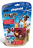 Playmobil - 6163 - Pirate avec canon rouge