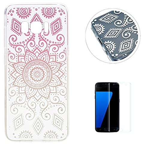 Coque Samsung Galaxy S8 Gel de Silicone Housse [avec Gratuit