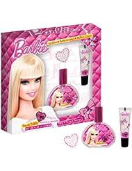 Barbie Coffret Cadeau Eau de Toilette 30 ml + Lip Gloss + Tatouage