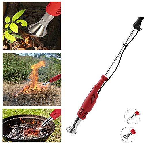 XINXUD Weed Burner Eléctrica Weed Killer Thermal Weeding Stick, 2000W 230V hasta 650 ° C, Tiendas...