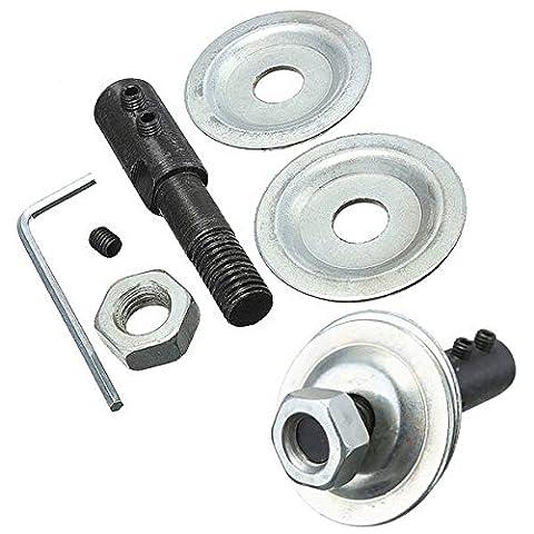 mark8shop 10mm Spindel Adapter für Schleifen Polieren 8mm Schaft Motor