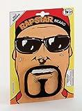 NEW ALI G BLACK BEARD RAP STAR FANCY DRESS (accesorio de disfraz)