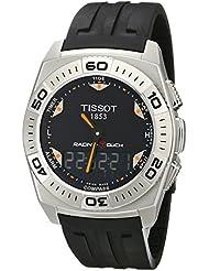 Tissot T0025201705102 - Reloj analógico de caballero de cuarzo con correa de goma negra