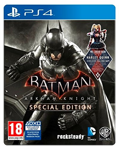 PS4 Batman Arkham Knight Special Edition [Steel Case Box] [Playstation 4]