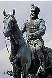 666071 Grand Duke On Horseback Darmstadt Germany A4 Photo