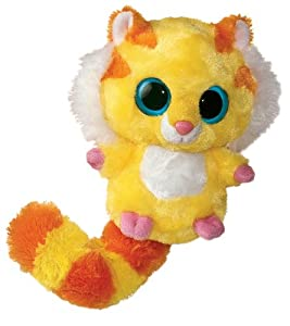 Aurora Yoohoo and Friends - Tigre de Peluche (12,7 cm), Color Amarillo