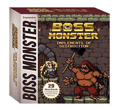 Brotherwise Games 016BGM Boss Monster Implements of Destruction Brettspiele, Mehrfarbig
