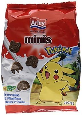 Arluy Galletas Minis Pokémon Choco - Paquete de 10 x 400 gr - Total: 4000 gr de España