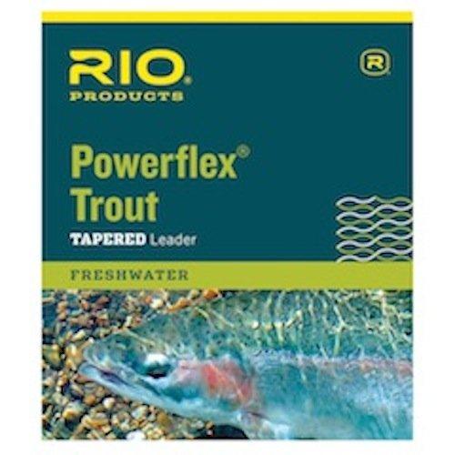 Rio Fly Angeln Marken Powerflex astreines 4x Leaders Line - Del Rio Mantel