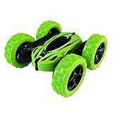 Fulltime E-Gadget Ferngesteuertes Auto ,Kinder 360 ° drehen Stunt Auto Modell 7km / h RC 4WD High-Speed-Fernbedienung Off-Road-Spielzeug (Grün)