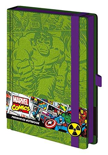 Marvel Notizbuch mit Incredible Hulk-Motiv, hochwertig, A5,sr72208 -