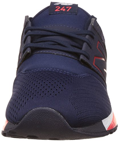 New Balance Man 247 Baskets, Bleu Bleu
