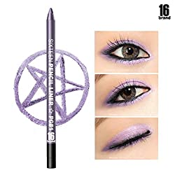 Eyeliner Delicious Romatpretty Black Liquid Eyeliner Stamp Marker Pencil Waterproof Stamp Double-ended Eye Liner Pen Cosmetic Seal Eyeliner Selling Well All Over The World