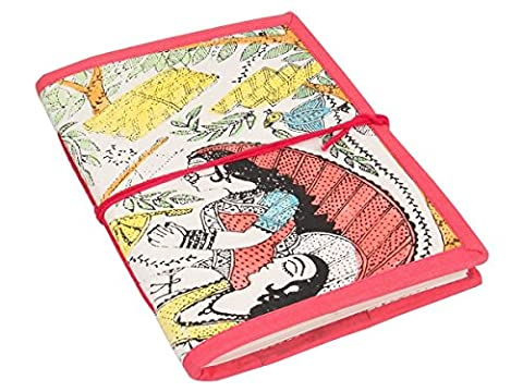 Store Indya, fait main Diary Traditional Recouvert Composition carnet 48