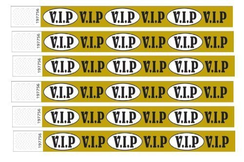 100-vip-printed-tyvek-wristbands-gold-3-4-inch