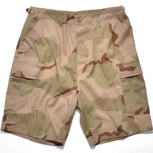 rothco BDU Rip Stop Combat Short tri color desert camo -