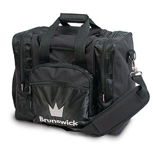 Brunswick Edge 1della Palla di Bowling di Tasche per 1Palla da Bowling, Bowling Scarpe e Bowling di, Rot Nero