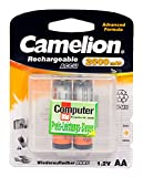 Camelion 17025206 Akku (NiMH, R6, Mignon, AA, 2500...
