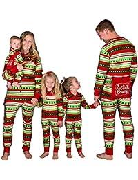 Weihnachten Familie Passenden Pyjamas Baum Bär Print Erwachsenen Kind Jumpsuit Nachtwäsche PJs Set für Familie