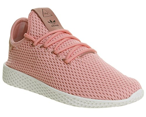 adidas Herren PW Tennis hu Gymnastikschuhe, Pink (Tactile Rose F17/Raw Pink F15), 37 1/3 EU (Tennis-schuhe Schnürung)