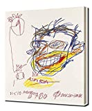 Pingoo Prints Jean-Michel Basquiat Aspirin - Leinwandbild - Kunstdrucke - Gemälde Wandbilder