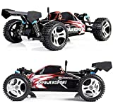 Xiangtat Wltoys Racing A959 Rc Car 1/18 2.4gh 4wd Off-road Buggy Off-road/with 40-60km/hour High Speed by xiangtat
