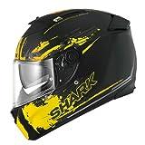 Shark Helm Moto speed-r, schwarz/gelb, Größe XL