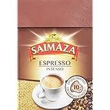 Saimaza Café Espresso Intenso. 80 Cápsulas de aluminio compatibles con cafeteras Nespresso®* - 8 Paquetes de 10 Unidades