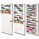 Vinteky 36 Paire Support de rangement étagère à chaussures pour Organisateur à...