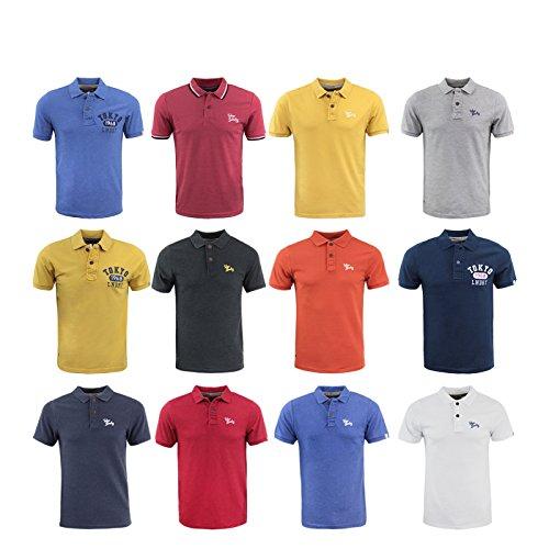 Mens Tokyo Laundry Designer Penn State Collar Polo Shirt