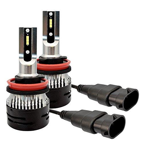 Lampe Auto, H7 Automobil LED Birnen (Luftfahrtaluminium), 2 X 36W 9000Lm 360 ° Emission, Lange Lebensdauer, Hohe Wasserabweisung, Hohe Wärmeableitung, H4, H1, H3, H10, H11, H13, H15, H16, D1, 9012,9006,9007,9004,H8/9/11