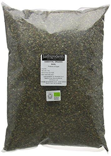 JustIngredients Essentials Organic Basil 1 kg