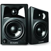 M-Audio AV 32, Casse Monitor Attive da Scrivania Biamplificate con Audio di Qualità, Ottimi per Film, Gaming, Musica e Produzione Multimediale, Coppia