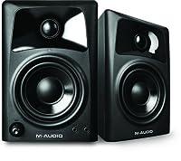 M-Audio AV32 | Compact Active Desktop Reference Monitor Speakers