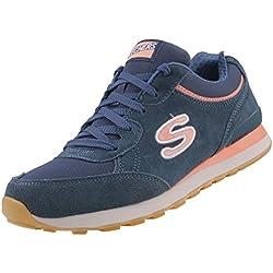 Skechers OG 82 Classic Kicks Originals Women's Trainers Sneaker Air Cooled Memory Foam, Numero di scarpe:EUR 37