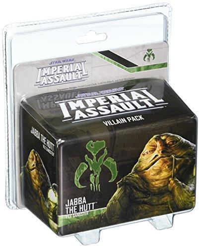 Fantasy Flight Games FFGSWI36 Jabba The Hutt Bösewicht Pack: Star Wars Imperial Assault, ()