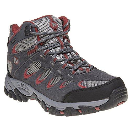 Merrell Ridgepass Mid Homme Boots Gris Gris