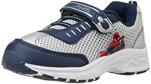 Spiderman Boy's Blue and Grey Sports Shoes - 4 kids...