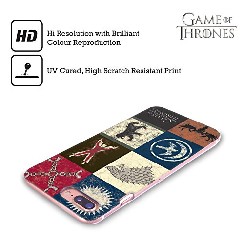Ufficiale HBO Game Of Thrones Jon Show Cavallo Battle Of The Bastards Cover Retro Rigida per Apple iPhone X Casa Sigillo