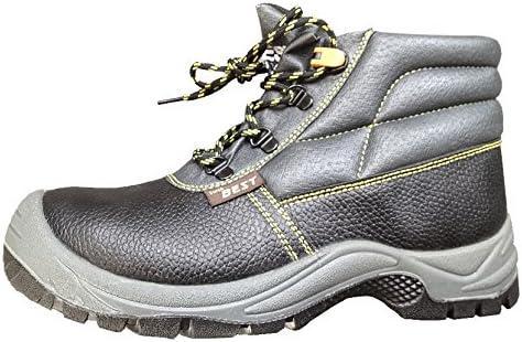 Seba 621 FCE Zapato alta, Negro con extensible S3, talla 42