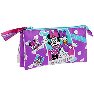 Disney Minnie Daisy Nice Day Neceser de Viaje, 1.32 litros, Color Rosa
